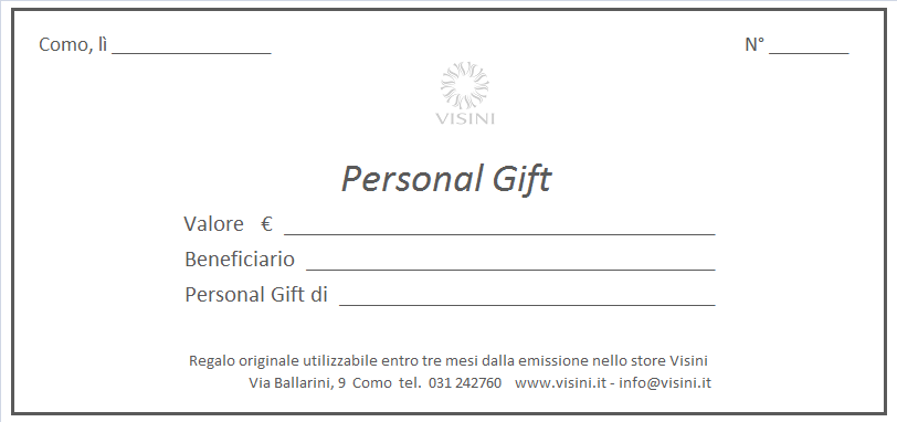 Personal Gift